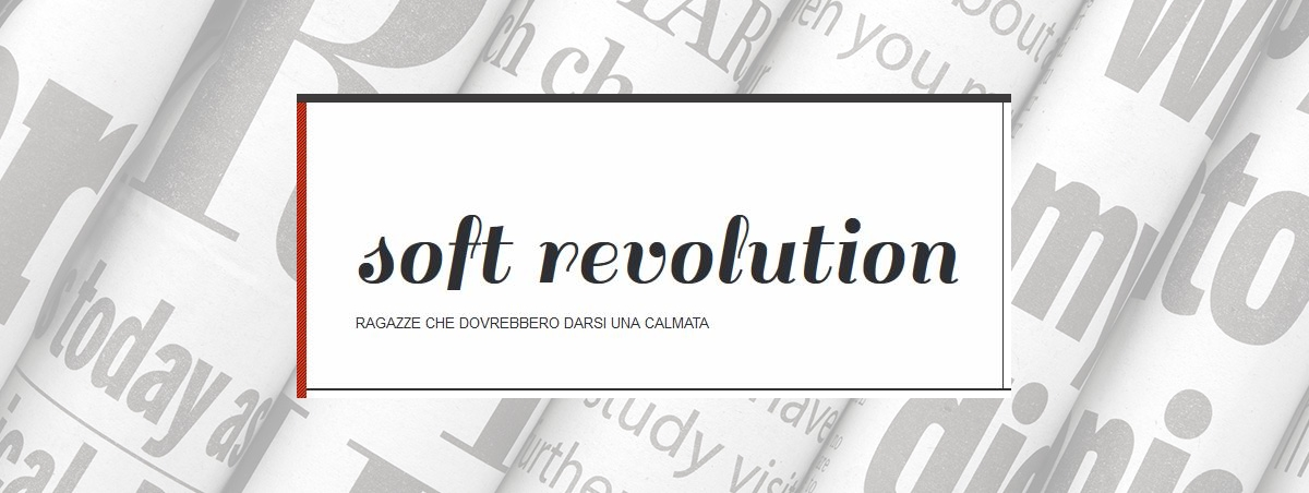 Soft revolution carbonio editore for Soft revolution